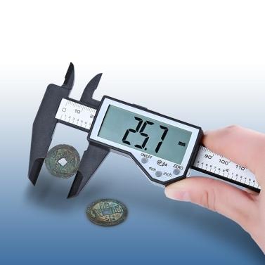 Электронный штангенциркуль 0-150 мм цифровой дисплей большой экран IP54 водонепроницаемый
