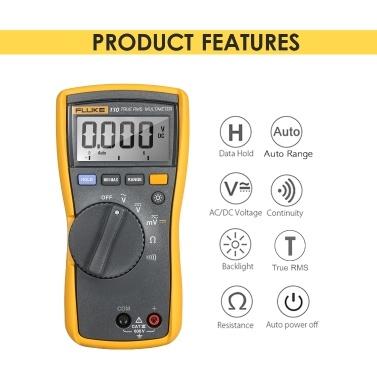 FLUKE 6000 Counts Multimeter Auto range Digital Multimeter Handheld Voltmeter