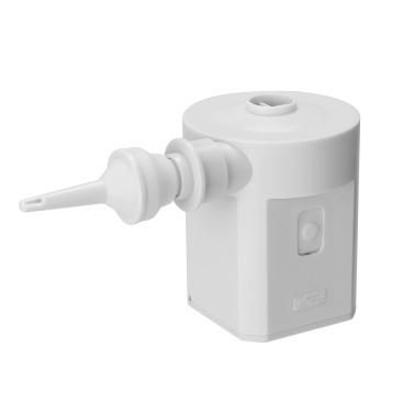 HS-206A Poetable USB Recharging White Air Pump Small Size Home Household Mini Air Pump Four Nozzles