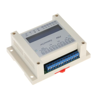 DC6-40V 4-Channel Programmable Digital Time Relay Timer Controller Delay Switch Module Independent Timing Cycle LCD Display