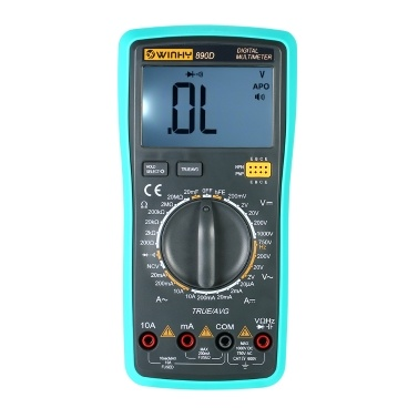 Multi-functional Handheld LCD Digital NCV True RMS Multimeter DC/AC Voltage Current Meter Capacitance Resistance Diode Tester