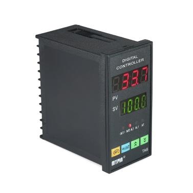 Automatische Digital LED PID Temperaturregler Thermometer RNR 1 Alarm Relaisausgang TC / RTD