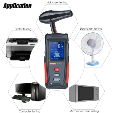 wintact High Precision Handheld  Electromagnetic Field Radiation Detector