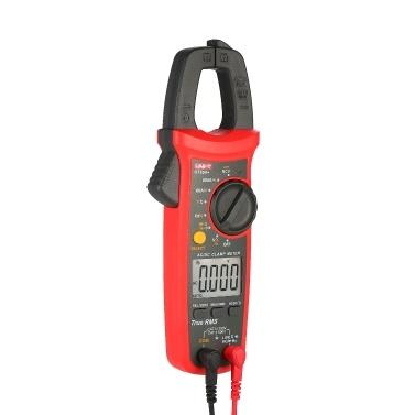 UNI-T UT204 + 6000 Zählt Digitalzangen-Messgerät True RMS Multimeter Zangen-Amperemeter Spannungsmessgerät NCV-Test Universalzangen-Messgerät AC / DC-Stromzangen-Messgerät -40 ~ 1000 ℃ Temperaturmessung LIVE-Test