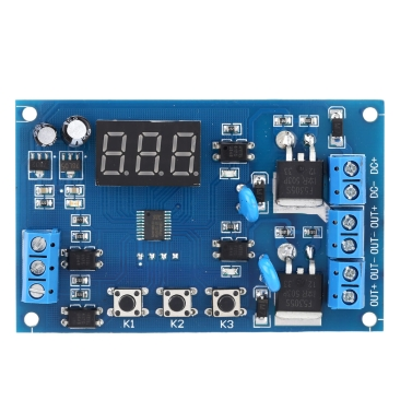 Buy Multi-function Dual MOS Control Relay Cycle Timer Module Delay Time Switch DC