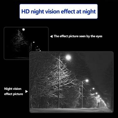 NV400B Digital Night-Vision Binocular-Telescope I-R LED Camorder 3.5X-7X Zoom Mini Night Observing Device for Nighthunting