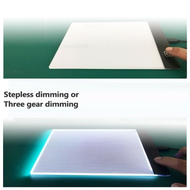 LED Light Drawing Board Digital Graphics-Tablet for Drawing Electronics USB Writing Painting Art Graphic Copy Board