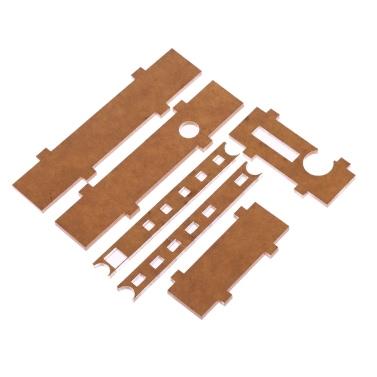 Acryl DIY Fall-Abdeckung Shell für TDA7492P 2 * 25W drahtlose BT 4.0 Audio Receiver Verstärker-Brett-Modul mit AUX-Schnittstelle
