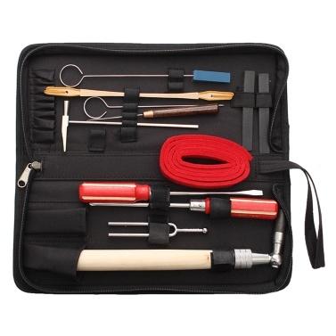 13 UNIDS Piano Tuning Kits de herramientas de mantenimiento Llave Martillo Juego de destornilladores