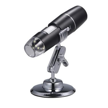 Microscopio digitale elettronico WiFi portatile in modalità wireless 1000x Lente d