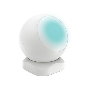 ZigBee PIR Sensor Infrared Sensor Infrared Human Body Moving Sensor Automatic Intelligent Household Alarm Sensor White