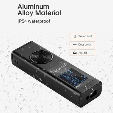 Handheld Rangefinder Digital Mini Distance Measuring Meter Laser Distance Meter Portable Electronic Space Measurement Device for Area Volume Distances