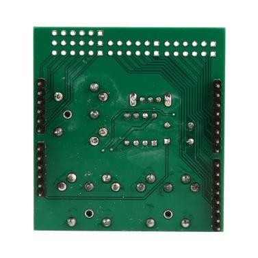 MIDI Shield Musical Breakout Board Instrument Digital Interface MIDI Adapter Plate Compatible with Arduino Adapter Board Module