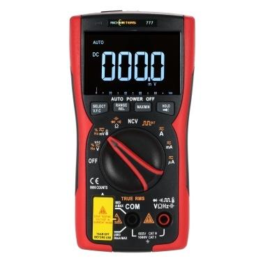 RM777 Digital Multimeter 9999 Professional True RMS Analog Tester Multimetro Capacitor NCV AC/DC