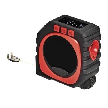 3-in-1 Digital Tape with String Mode Roller Mode Laser Mode LED Digital Display Measuring Tape Laser Digital Tape