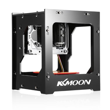 KKmoon DK-8-KZ 1000mW High Speed Mini USB Laser Engraver Carver Automatic DIY Print Engraving Carving Machine Off-line Operation Protective Glasses