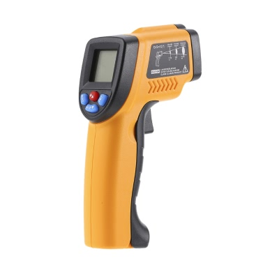 12:1 Handheld Non-contact Infrared Thermometer -50~380°C