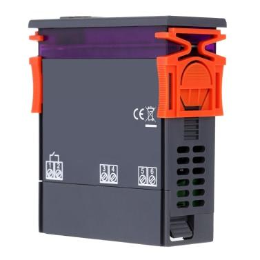 Meterk 90 ~ 250V 10A Digital Temperaturregler Thermoelement -50 ~ 110 Celsius Grad mit Sensor