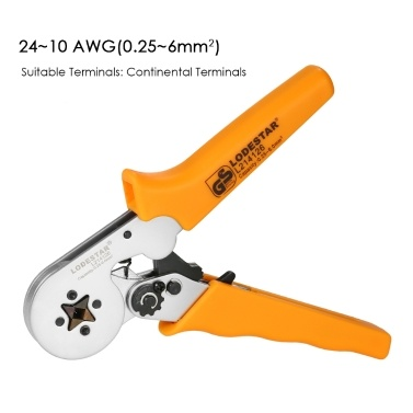 LODESTAR Professional Wire Crimpers Crimping Press Pliers