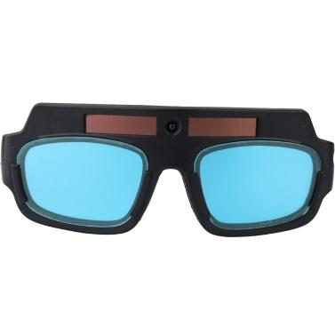 Solar Energy Auto Darkening Welding Safety Goggles