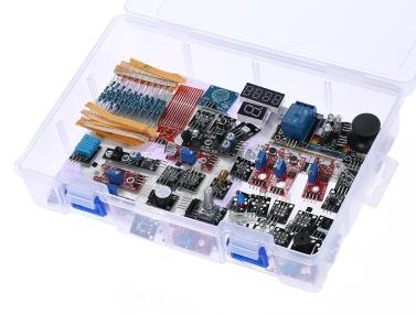 37 in 1 box sensor module kit für arduino uno 1 tomtop.com