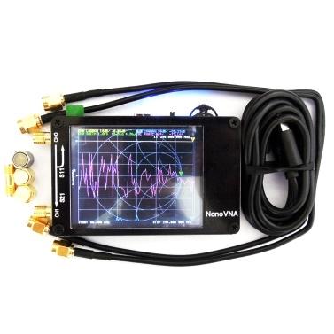 Analyseur de réseau portatif portatif à affichage vectoriel 50KHz-900MHz de réseau à écran tactile, onde stationnaire