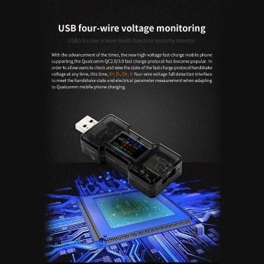 FNB18 USB Tester DC Digital Current Voltage Meter Amp