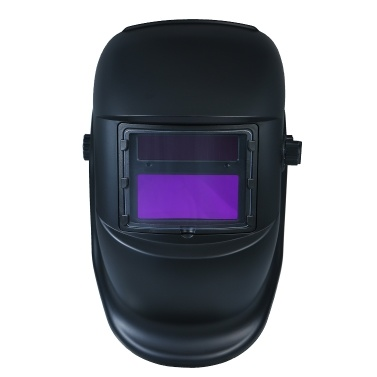 Schweißhelm Solarbetriebene Schutzhelmabdeckung mit automatischer Verdunkelung und variablem Farbton von DIN9 bis DIN13 Geeignet für ARC WIG MIG Spot-Mikrodraht-AC-DC-Plasma-Schweißer / -Schneider