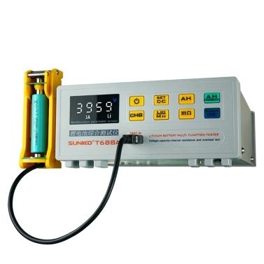 SUNKKOT688A Single Battery Comprehensive Test Instrument Internal Resistance Capacity Voltage Overload Tester