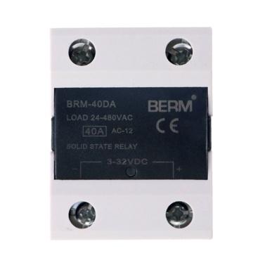 120A Einphasen-Halbleiterrelais Last 24-480VAC AC-Steuerschutz