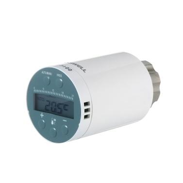SEA801-ZIGBEE Termostato per radiatore intelligente compatibile con Amazon Alexa Google Home Regolatore di temperatura per valvola termostatica programmabile per radiatore Funziona per TYGWZW-01N Ricevitore wireless