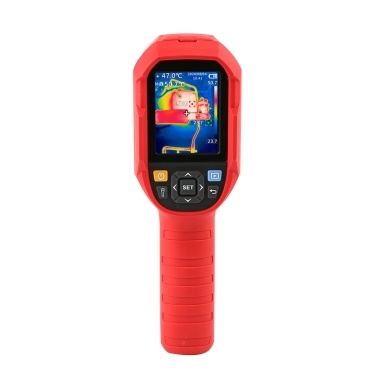 UNI-T UTi260B -15℃ ~550℃ 2.8 Inch TFT LCD Display Screen Infrared Thermal Imager 49152(256 * 192) Thermal Imaging Pixel Surface Temperature Real Time Thermal Images Combination Infrared Visible Light Dual Lens Real Time Imaging Transmission Multifunction Thermal Imager