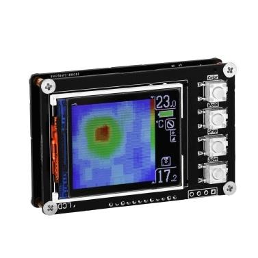 Simple Thermal Imager AMG8833 Sensors 1.6 Inch TFT Display Screen 10Hz Data Refresh Rate