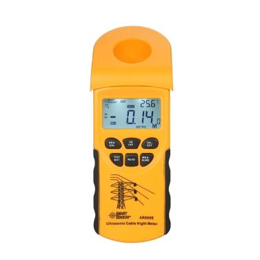 SENSOR INTELIGENTE Medidor de altura do cabo ultra-sônico digital profissional Sensor de cabo da altura da mão Medindo a altura dos cabos aéreos 3-23m