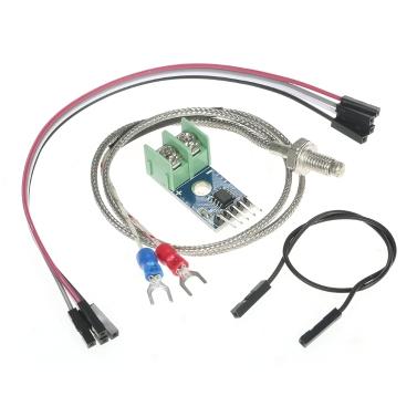 DC 5V MAX6675 Modul 0 ° C ~ 1024 ° C + K Thermoelement-Temperatursensor für Arduino