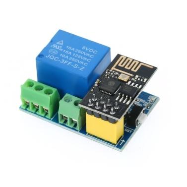 ESP8266 Relaismodul W-F- Smart Socket Smart-Fernbedienungsschalter mit ESP-01S-Modul