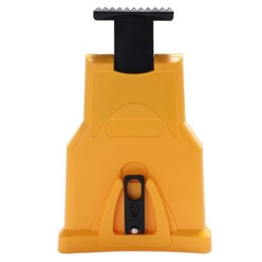 Chainsaw Sharpener Portable Chain Saw Sharpener Work Fast-Sharpening Stone Grinder Tools Yellow