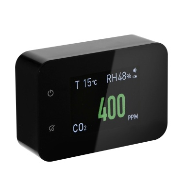 Household Air Quality Detector Multifunctional CO2 Tester with Carbon Dioxide Value Electricity Quantity Temperature Humidity Display Function