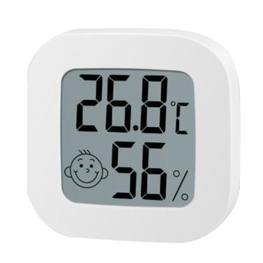 KKmoon Mini Termometro da interno Monitor di umidità LCD digitale Sensore di temperatura Indicatore Misuratore di umidità Indicatore di temperatura Termometro Camera Igrometro Indicatore Stazione meteorologica