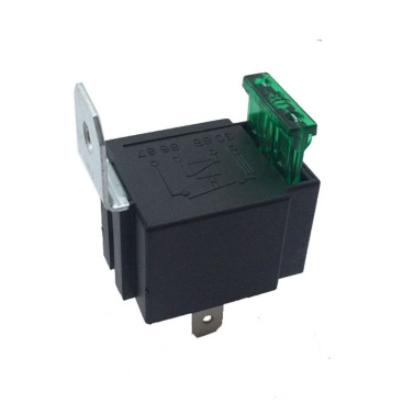 New 4 Pins 12V DC 40A SPST Fused Car Bike Truck Auto Refit Automotive Relay 30A Fuse