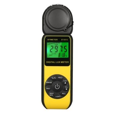 BTMETER BT-881D Digital Lux Meter Luxmeter Lux / FC Luminometer Photometer-Messgerät