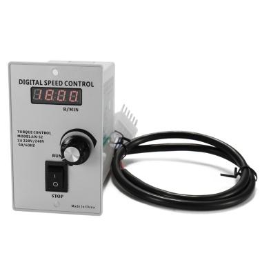 Digital Display UX-52 400W Speed Motor Controller Regulated Speed Forword Backword Controller
