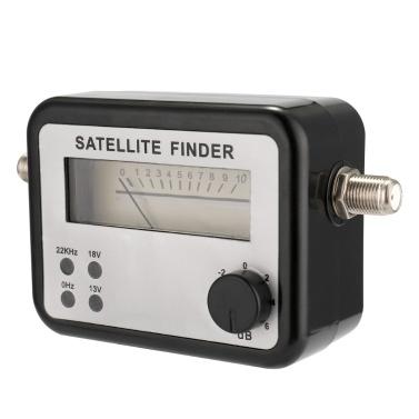 Precisão alta da força do medidor do sinal de Sat do inventor satélite para a instalação do equipamento móvel home