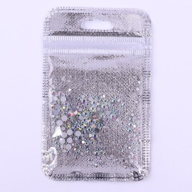 Nail Art Strass Glitter Diamonds Crystal Gems 3D Tipps Dekorationen # 21 300Pcs Mixed