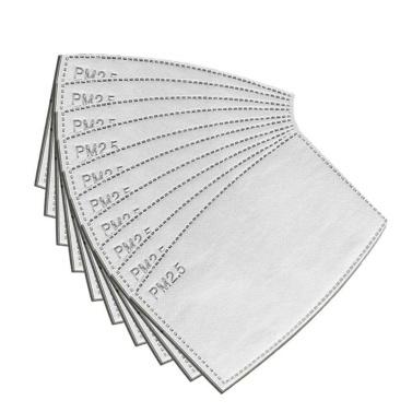 Equipamento de proteção do filtro substituível à prova de poeira ativado filtro de carbono ativado PM2.5 da tampa da cara