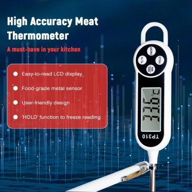 Digital Food Thermometer Mini LCD Thermometer Probe BBQ Meat Food Cooking Temperature Tester