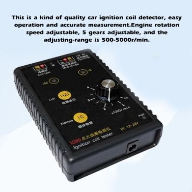 12 V 24V Universal Automobile Ignition Coil Detector IG80 Tester Car Detection Device