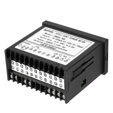 Multifunktionale Intelligent Digital Sensor Meter LED-Anzeige 0-75mV / 4-20mA / 0-10V Eingang