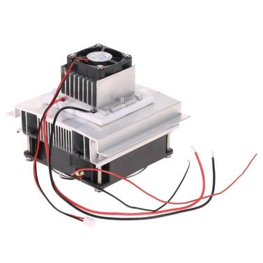DIY Thermoelektrische Peltier-Kühlung Kühlsystem Kit Semiconductor Kühler Conduction Module + Kühler + Lüfter + TEC1-12706