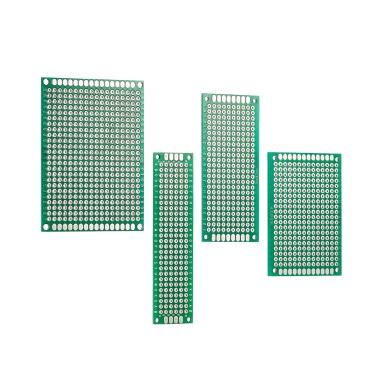 40 stücke Doppelseite Prototyp Platine Universal Leiterplatte Kit für Elektronische DIY Projekt 2 * 8 cm / 3 * 7 cm / 4 * 6 cm / 5 * 7 cm 4 Größen